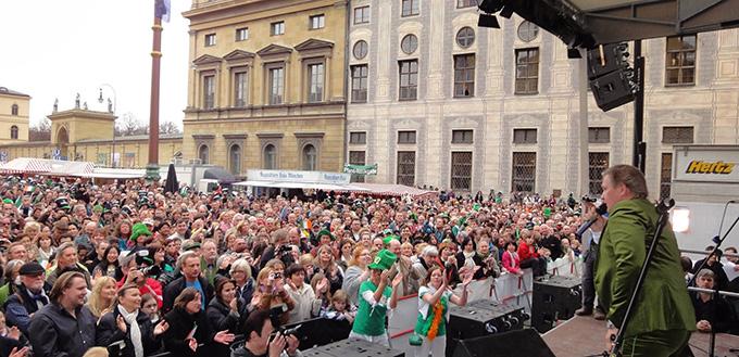 St. Patricks Day Munich